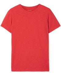 Vince - Slub Pima Cotton-jersey T-shirt - Lyst