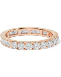 Anita Ko - 18-karat Rose Gold Diamond Ring - Lyst