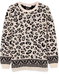 Altuzarra - Casablanca Merino Wool-blend Jacquard Jumper - Lyst