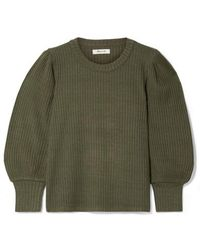 Madewell Lemon Ribbed-knit Jumper - Green