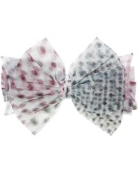 Maison Michel - Betty Polka-dot Tulle Headband - Lyst