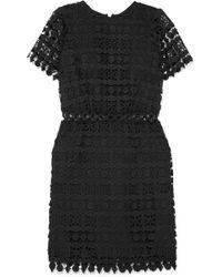 MICHAEL Michael Kors | Guipure Lace Mini Dress | Lyst
