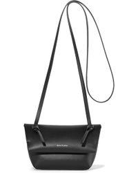 Acne Studios - Crossbody Mini Leather Shoulder Bag - Lyst