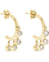 Jennifer Meyer | 18-karat Gold Diamond Earrings | Lyst