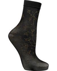 Falke - Sakura Glittered 20 Denier Socks - Lyst