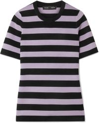 Proenza Schouler - Striped Knitted Sweater - Lyst
