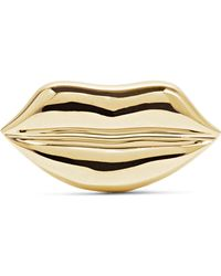 Alison Lou - Lip 14-karat Gold Earring - Lyst