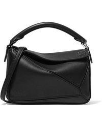 Loewe Puzzle Mini Bag - Black