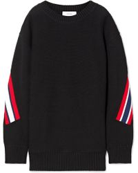 Facetasm - Oversized Striped Wool Sweatshirt - Lyst