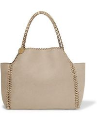 Stella McCartney - The Falabella Medium Reversible Faux Brushed-leather Tote - Lyst