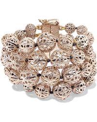 Rosantica - Innocenza Gold-tone Bracelet - Lyst