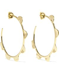 Ippolita - Classico Half Wavy 18-karat Gold Hoop Earings - Lyst