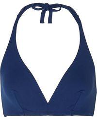 Eres Les Essentiels Gang Neckholder-bikini-oberteil - Blau