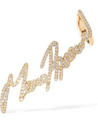 Stephen Webster - + Tracey Emin More Passion 18-karat Gold Diamond Ear Cuff - Lyst