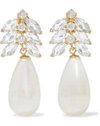 Loren Stewart - Aura 14-karat Gold Multi-stone Earrings - Lyst
