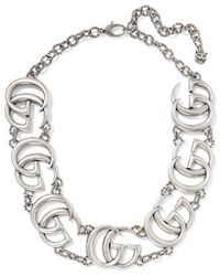 Gucci Silver-plated Necklace - Metallic