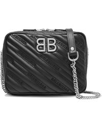 Balenciaga - Bb Reporter Xs Quilted Leather Shoulder Bag - Lyst