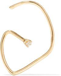 SANSOEURS - G 18-karat Gold Diamond Earring - Lyst