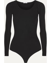 Wolford Buenos Aires Stretch-jersey Thong Bodysuit - Black