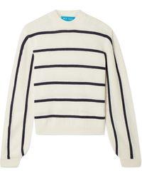 M.i.h Jeans - Ashton Striped Cashmere Sweater - Lyst