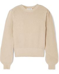 FRAME - Cotton-blend Sweater - Lyst