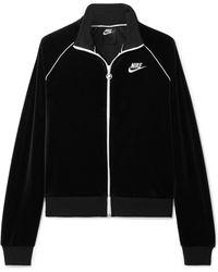 84aac7fcffb1 Lyst - Nike Uptown 550 Hooded Jacket in Gray