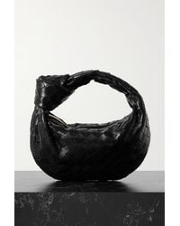 Bottega Veneta Sac À Main En Cuir Intrecciato À Nœud Jodie Mini - Noir