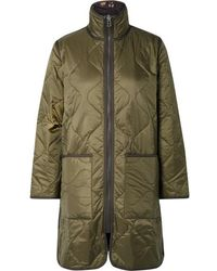 Madewell Reversible Quilted Ripstop And Shell Jacket - Green