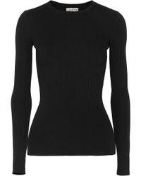 Balenciaga - Ribbed-knit Jumper - Lyst