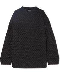 Mansur Gavriel - Oversized Basketweave Cashmere Sweater - Lyst