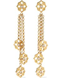 Buccellati - Opera 18-karat Gold Diamond Earrings - Lyst