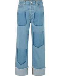 JW Anderson - Faded Jeans - Lyst