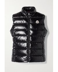 Moncler Ghany Quilted Shell Down Gilet - Black