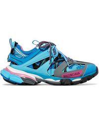 Balenciaga Track Trainers - Blue