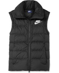 Nike - Quilted Shell Down Vest - Lyst