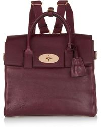 Mulberry - + Cara Delevingne Medium Leather Backpack - Lyst