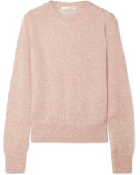 The Row - Minco Cashmere And Silk-blend Jumper - Lyst