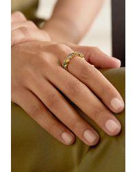 Suzanne Kalan 18-karat Gold Multi-stone Ring - Metallic