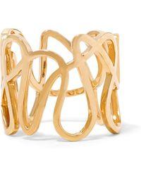 Repossi - White Noise 18-karat Gold Ring - Lyst