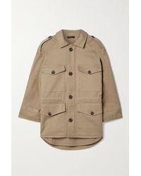 ATM Cotton-blend Twill Jacket - Brown