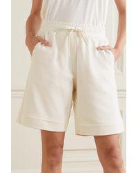 Ernest Leoty Eve Cotton-jersey Shorts - White