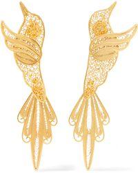 Mallarino - Colibri Gold Vermeil Earrings - Lyst
