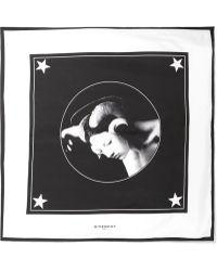 Givenchy | Printed Silk-twill Scarf | Lyst