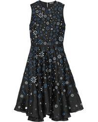 Holly Fulton - Ana Maria Embellished Silk Organza Dress - Lyst
