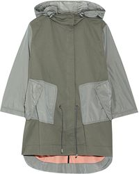 Tim Coppens - Layered Shell-paneled Stretch-cotton Parka - Lyst
