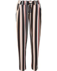 Hanro - Striped Cotton And Modal-blend Pyjama Trousers - Lyst