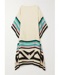 Louisa Parris + Net Sustain Eliza Printed Silk-twill Maxi Dress - Multicolour