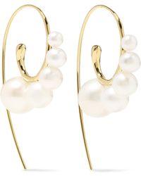 Ippolita - Nova 18-karat Gold Pearl Earrings - Lyst