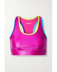 All Access Front Row Stretch Sports Bra - Pink