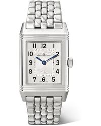 Jaeger-lecoultre - Reverso Classic Thin 24.4mm Medium Stainless Steel Watch - Lyst